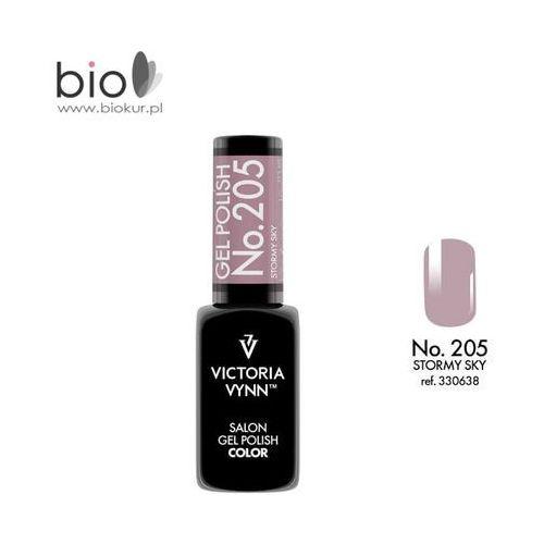 Victoria vynn Lakier hybrydowy gel polish color stormy sky nr 205 - 8 ml nowość!