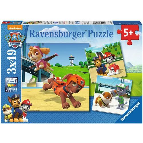 Puzzle psi patrol 3x49 marki Tm toys