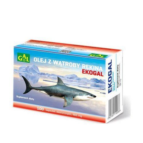 Kapsułki Ekogal Olej z rekina grenlandzkiego 60 kaps.