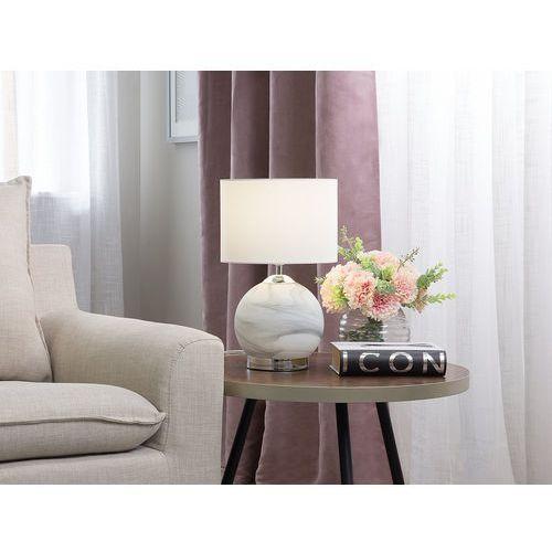 Lampa stołowa biała UELE