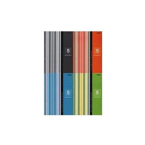Kołobrulion B5 Top-2000 w kratkę 160 kartek Student book 5 przedmiotów szary