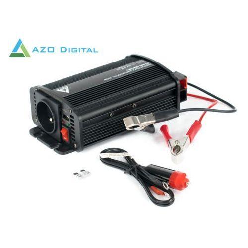 Samochodowa przetwornica napięcia 12 vdc / 230 vac ips-800u 800w marki Azo digital