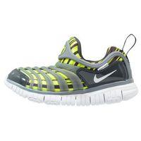 Nike Sportswear DYNAMO FREE PRINT (PS) Półbuty wsuwane volt/white/bright cactus/anthracite (0885179170378)