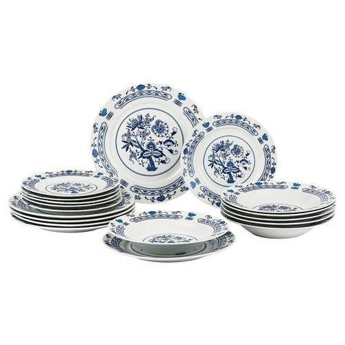 Banquet Onion 18-częściowy zestaw talerzy,
