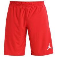 Jordan ALPHA DRY Krótkie spodenki sportowe university red/white/white, kolor czerwony