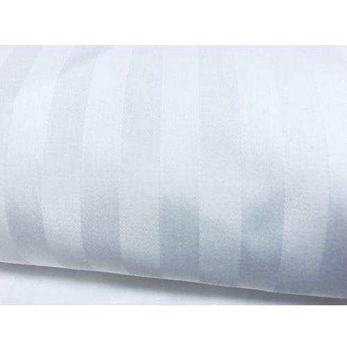 Poszewka prestige 40x40 1cm pasy musso 100% bawełna pościel hotelowa marki Slevo