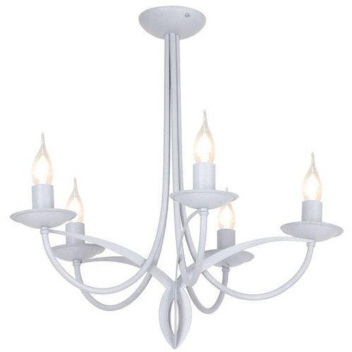 Lampa świecznikowa wisząca zwis Aldex Cyfra 5x40W E14 szara 849F, 849F