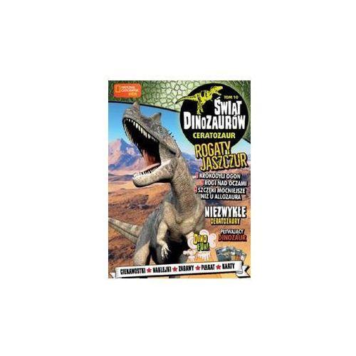 Świat Dinozaurów T.10 Ceratozaur (9788381178631)