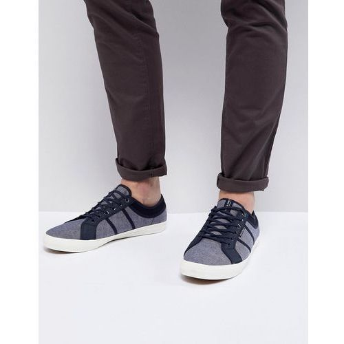 Jack & jones canvas trainers - navy