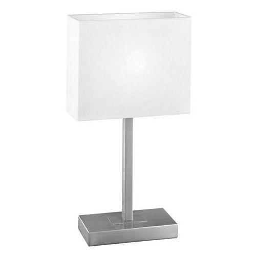 Eglo Lampa stołowa pueblo 87598 lampka oprawa 1x60w e14 satyna/krem (9002759875985)