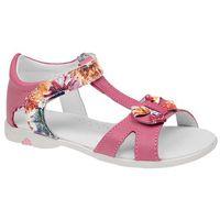 Sandałki dla dziewczynki skóra 3984 marki Kornecki