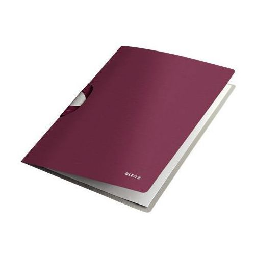 Skoroszyt zaciskowy Leitz Style A4 4165-28 rubinowy