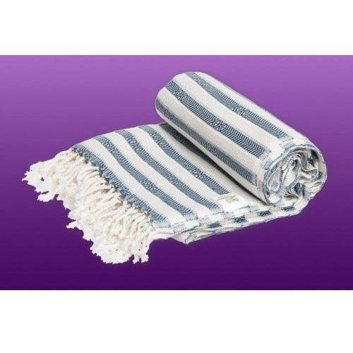 Import Sauna łażnia - hammam ręcznik bawełna/bambus zebra 12 stalowy