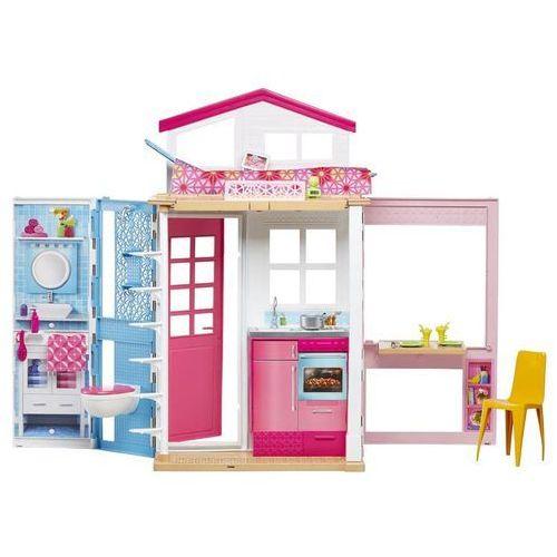 Barbie domek dwupoziomowy