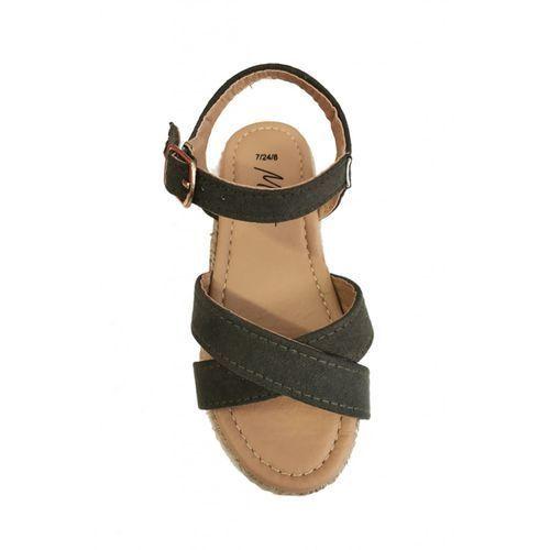 Sandały dziewczęce 3z36br marki Minoti