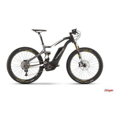 Rower elektryczny  xduro fullseven carbon 9.0 karbon/biały/limetka mat 2017 marki Haibike