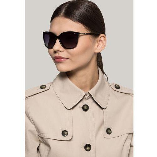 Polaroid okulary przeciwsłoneczne shiny black