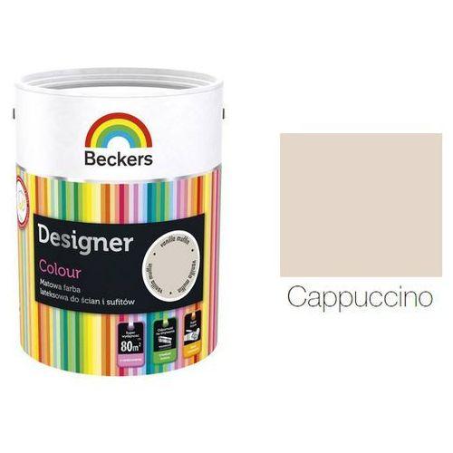 Beckers designer colour- farba lateksowa, cappuccino, 2.5 l