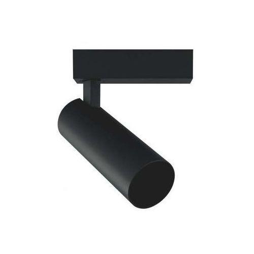 Lampa sufitowa aries lp-8636s bk metalowa oprawa regulowana led 9w do systemu szynowego 1-fazowego tuba czarna marki Light prestige
