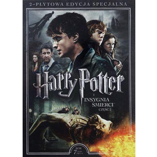 Harry potter i insygnia śmierci, część 2 (2-płytowa edycja specjalna) (dvd) - david yates darmowa dostawa kiosk ruchu marki Galapagos