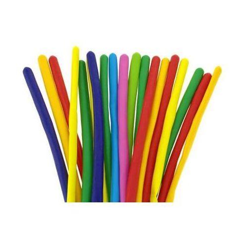 Modeliny, rurki animator - mix kolorów - pastelowe - 50 szt. wysoka jakość. marki Go