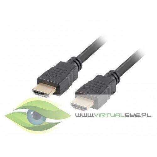 Lanberg kabel hdmi-hdmi m/m v2.0 20m czarny