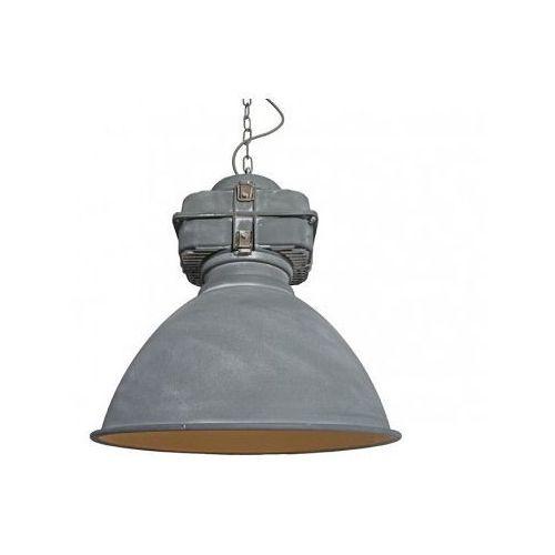 Azzardo bismarck az1575 h5014 co lampa wisząca zwis 1x60w e27 szary + żarówka led za 1 zł gratis!