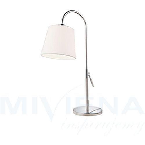 Viokef Nick lampa stołowa 1 stal abażur