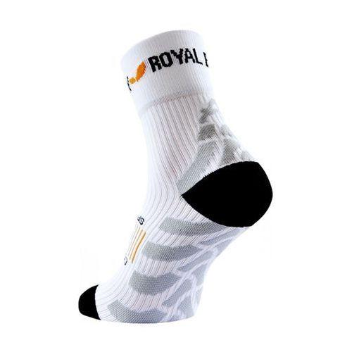 Royal bay classic high-cut - skarpetki kompresyjne długie (biały)