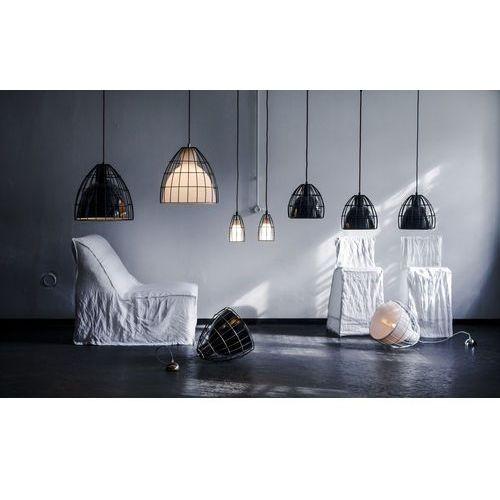 LAMPA wisząca FRAME 10333401 Kaspa metalowa OPRAWA retro LISTWA sufitowa LOFT klatka drut biały matowy, kolor Biały