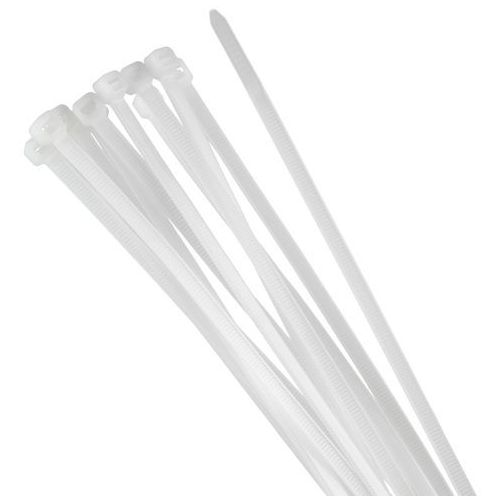 Opaska zaciskowa 100 x 2,5mm / trytytka biała marki Tretytka