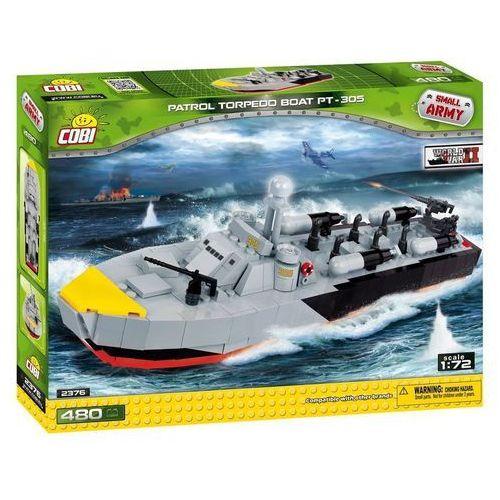 Armia Partol Boat PT-305 Amerykański kuter torpedowy - Cobi Klocki
