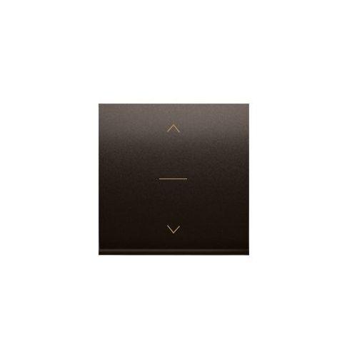 Klawisz podwójny z piktogramem żaluzjowym do podświetlenia simon 54 brązowy marki Kontakt_simon