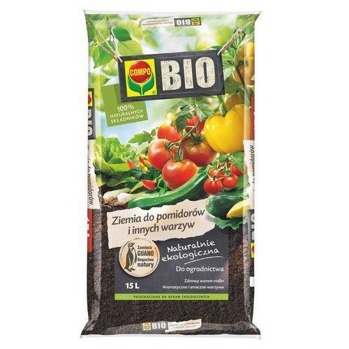 Compo Ziemia do pomidorów i warzyw bio : pojemność - 15 l