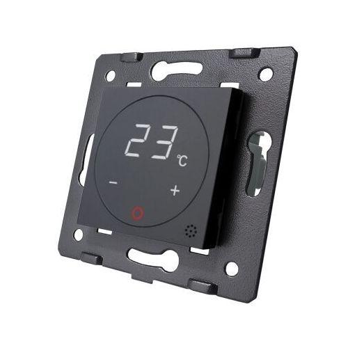 Termostat pokojowy regulator temperatury moduł bez ramki czarny term-62 jmc marki Jmc adriawik