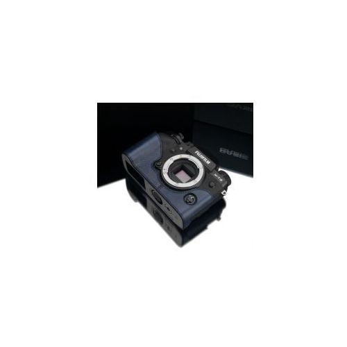 Halfcase z naturalnej skóry w kolorze granatowym dedykowany do Fuji Film X-T2, XS-CHXT2NV