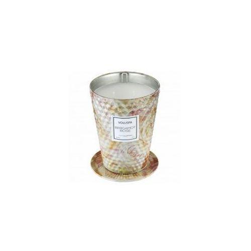 VOLUSPA świeca BERGAMOT ROSE GIANT 737G - wosk kokosowy, dwa knoty, V9916 (12004197)