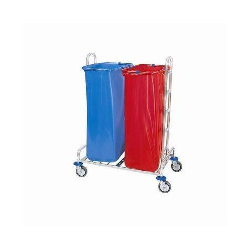 Wózek na odpady chromowany 02.120.ch marki Splast