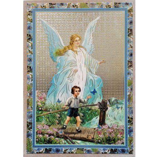 Ikona anioł stróż - dla chłopca marki Produkt polski