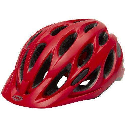 Bell tracker kask rowerowy czerwony 54-61 cm 2018 kaski miejskie i trekkingowe