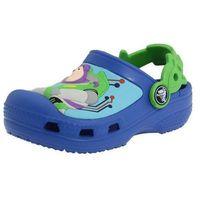 Crocs Classic Chudy i Buzz Astral Toy Story Sea Blue/Lime Green Niebieskie klapki dla dzieci 21-22 C4/5, kolor zielony