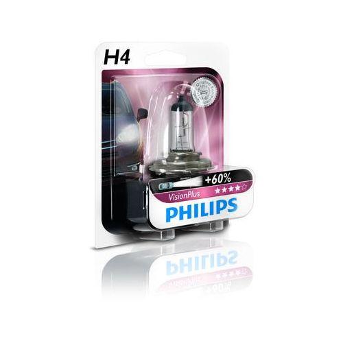PHILIPS H4 12V 60/55W P43t-38 VisionPlus, PH-12342VPB1
