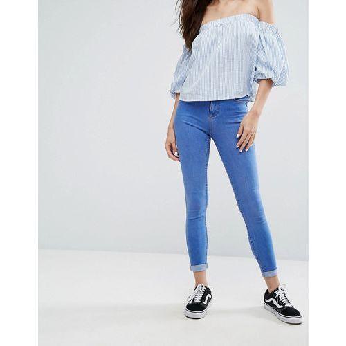 New Look Supersoft Super Skinny Jeans - Blue, kolor niebieski