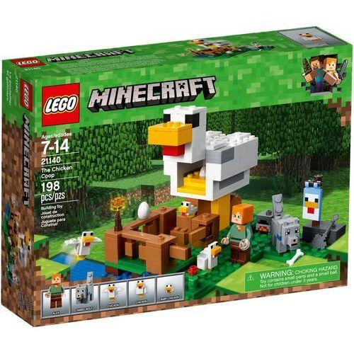 21140 KURNIK (The Chicken Coop)- KLOCKI LEGO MINECRAFT - BEZPŁATNY ODBIÓR: WROCŁAW!