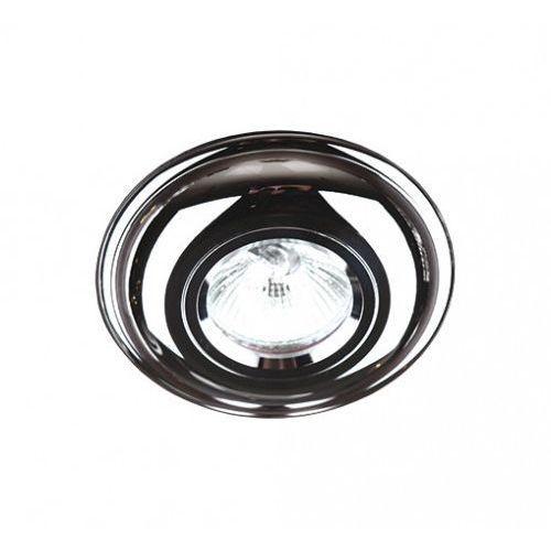 Oczko lampa oprawa wpuszczana downlight MAXlight 1x35W GU5.3 12V chrom H0026 WYPRZEDAŻ OSTATNIA SZTUKA!