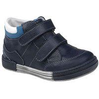 Trzewiki nieocieplane buty 4666 granatowe - multikolor ||niebieski ||granatowy marki Kornecki