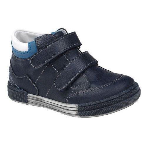 Trzewiki nieocieplane buty KORNECKI 4666 Granatowe - Multikolor ||Niebieski ||Granatowy, kolor niebieski