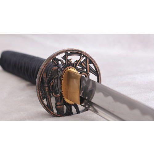 Miecz katana do treningu, stal wysokowęglowa 1065 ręcznie kuta r873 marki Kuźnia mieczy samurajskich