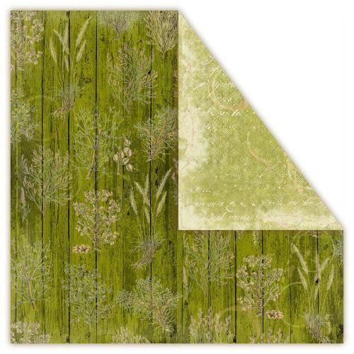 Creativehobby Ozdobny papier loft herbs 30,5x30,5 cm - rosemary - romy