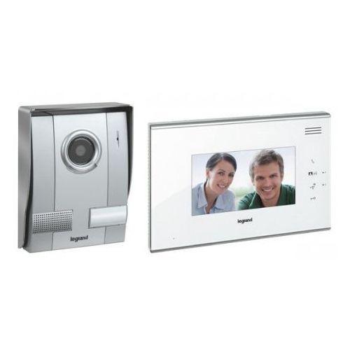 Legrand Zestaw wideodomofonowy 1-rodzinny z aparatem głośnomówiącym 7